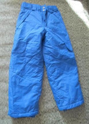 Зимние лыжные штаны 110/116 zeroxposur