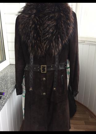 Дублёнка пальто шуба