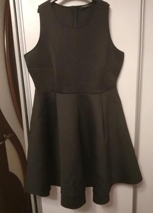 Платье неопрен, размер 52-54