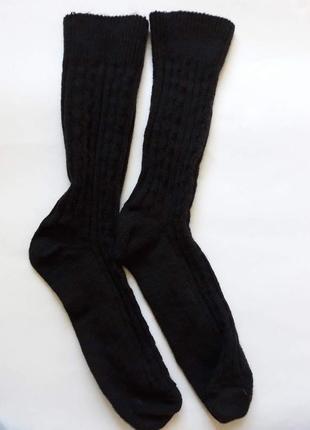 Теплые вязанные носки tchibo! размер 41-43!