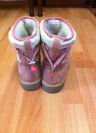 Чобітки ботинки timberland зимові