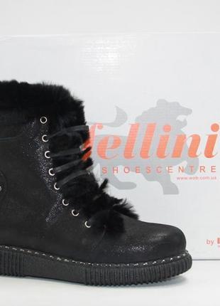 Теплющие зимние ботинки rifellini нубук натуральный мех цигейка 36-40р