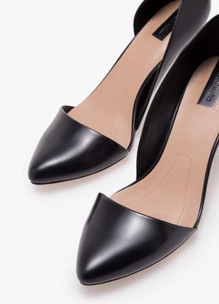 Шикарные туфли лодочки на среднем каблуке 36, 37, 40