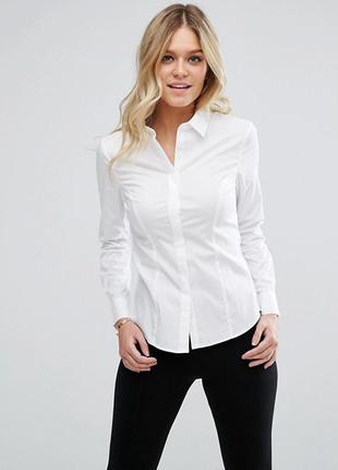 Белая рубашка asos,р-р 18