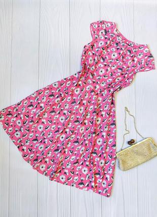 Цветочное миди платье wallis
