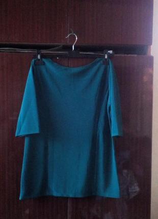 Срочно продам блузу трикотажную теплую 48размера