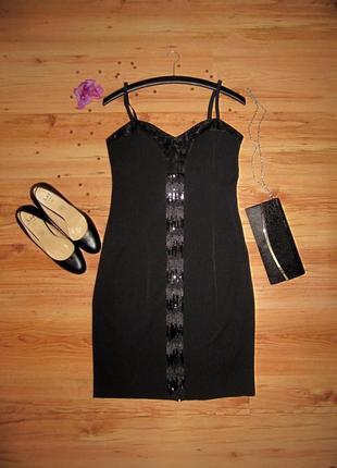 Вечірне плаття з паетками, сукня коротка, миди коктейльное платье