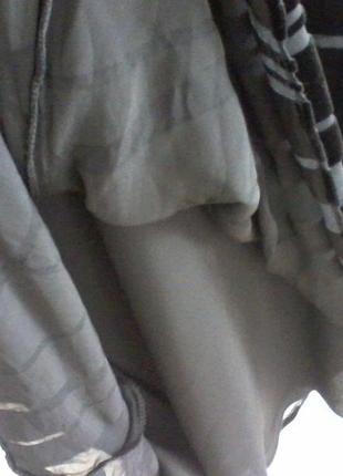 Шелковая юбка панбархат, разм 443 фото