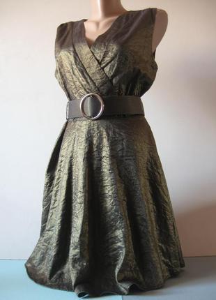 Нарядное платье - на выпускной. вечеринку, событие - бронзового цвета!
