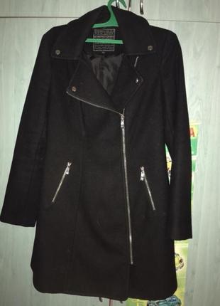 Пальто кашемировое new look