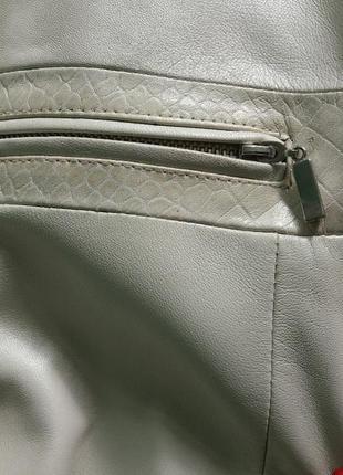 Шкіряна куртка4 фото