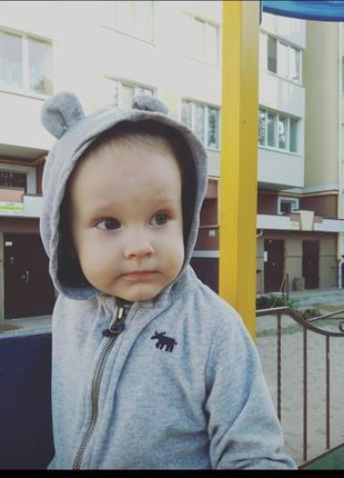 Кофточка с ушками)