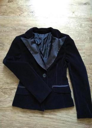 Пиджак чёрный s