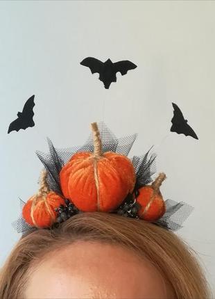Ободок, украшение, костюм на halloween хеллоуин