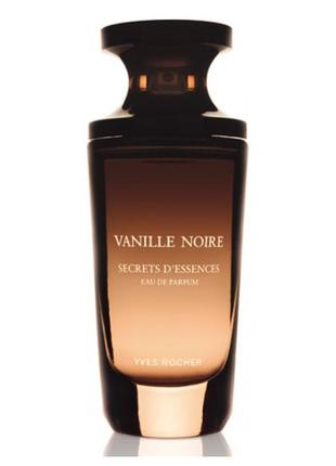 Парфюмированная вода vanille noire от yves rocher