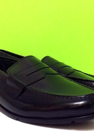 Мужские туфли лоферы rockport classic loafer penny р-47