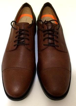 Мужские кожаные туфли rockport   р-47 стелька 31,5-32 см
