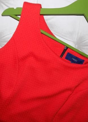 Платье из плотной фактурной ткани4 фото