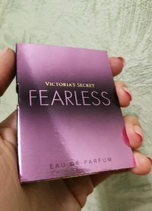 Пробник духов victoria's secret fearless