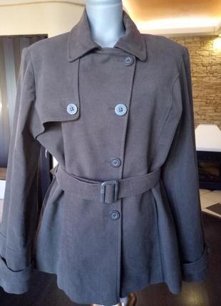 Распродажа!короткий  тренч,пальтишко,куртка 50-54p