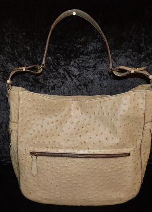 Кожаная сумка tosca blu, оригинал