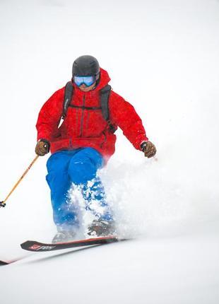 Яркие голубые мужские лыжные штаны на 52р