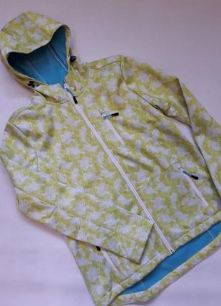Ветровка утепленная куртка яркая