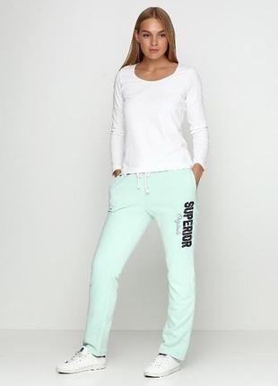 Теплые спортивние женские штаны с начесом l, от esmara, германия