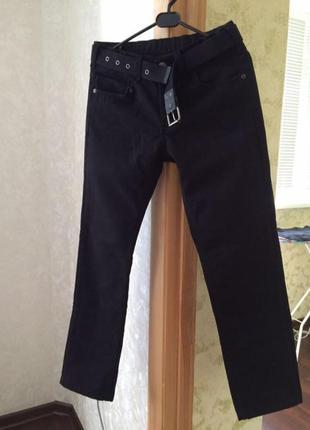 Утеплённые подростковые брюки  на мальчика
