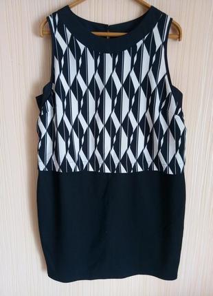 Красивое платье миди 54 размера