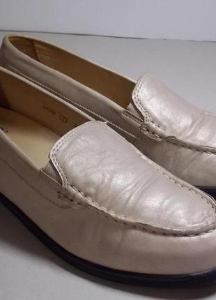 """Кожаные туфли """"meisi""""germany 40р описание!"""