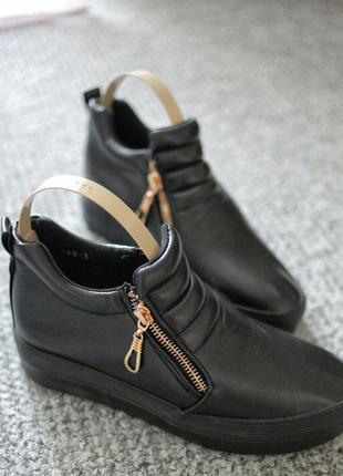 Женские кроссовки сникерсы black 36  37