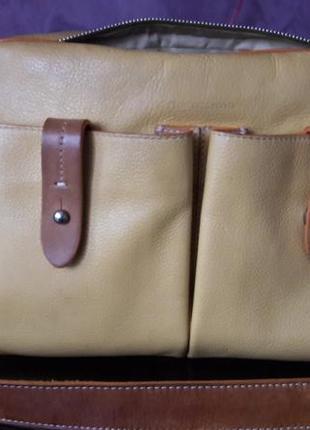 Кожаная сумка francesco biasia