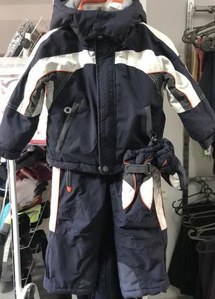 Термо комбенизон куртка штаны chicco 18 мес