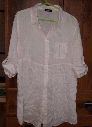 Стильна лляна сорочка. max mara