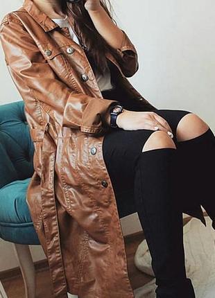 Актуальный тренч  плащ пальто miss sixty