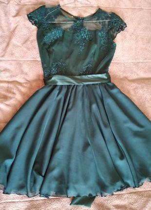 Плаття з дорогого кружева3 фото