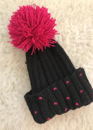 Ручная работа вязанная шапка чёрная
