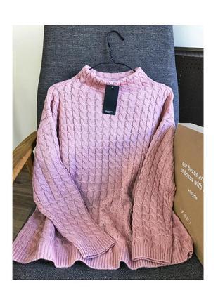 Вязаный свитер от mango
