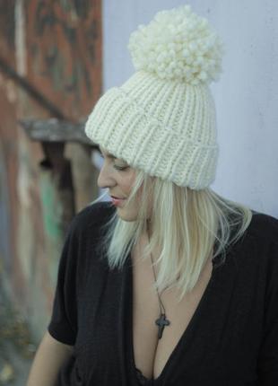 Очень теплая шапка!