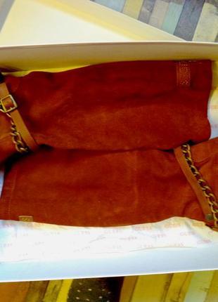 Шикарные рыжие сапоги на осень guess сапоги оригинал.