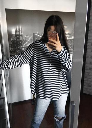 Полосатая рубашка tcm tchibo