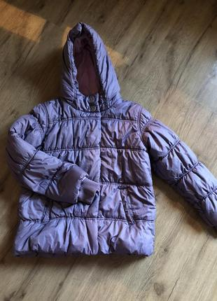 Тёплая куртка