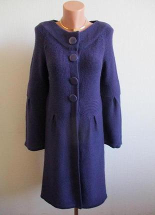 Длинный вязаный кардиган-пальто george