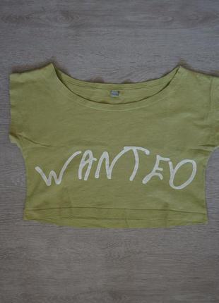 Продается детская укороченная  футболка rebel