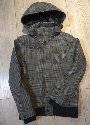 Демисезонная утеплённая куртка для мальчика 9-10 лет h&m