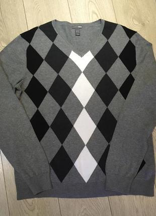 Джемпер свитер h&m размер xl