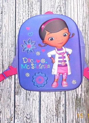 Фирменный рюкзак disney для девочки 3-10 лет