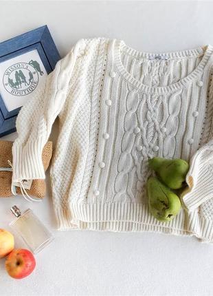 Вязаный свитер оверсайз george
