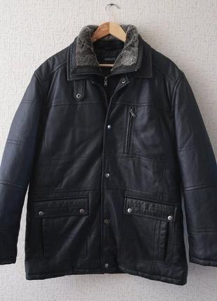 Длинная кожаная куртка babista (германия)
